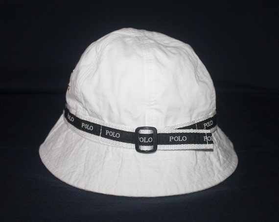 Vintage polo ralph lauren bucket hat hunting by 1ndovintage1 for Polo fishing hat