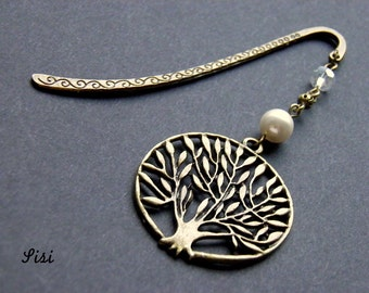 Brand pages bronze metal tree of life