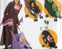 STROLLER DECORATIONS & Toddler COSTUMES Simplicity Costumes Pattern 4021 Sizes 1/2 1 2 3 4