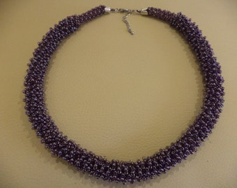 Necklace lilac morning