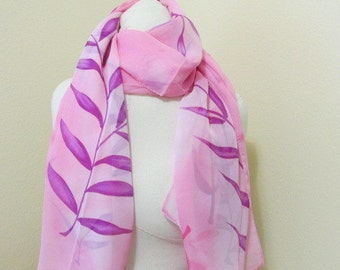 SALE -Silk Painted Scarf