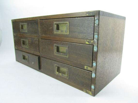 wood drawer drawer box storage cabinet organizer asian box. Black Bedroom Furniture Sets. Home Design Ideas