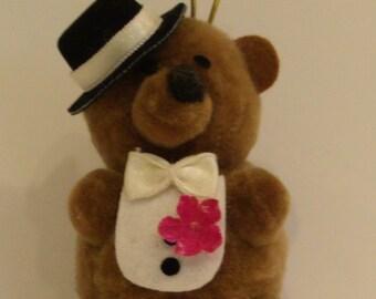 Tuxedo Bear Ornament