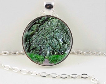 Enchanted Forest Pendant or Key Chain