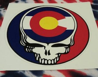 Grateful Dead Sticker Etsy