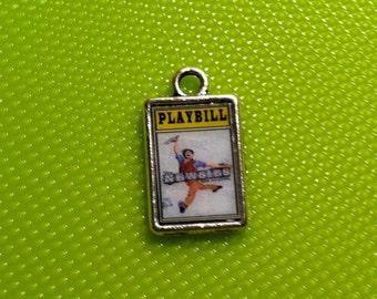 Theater / Show Charm - Playbill Play Bill - NEWSIES