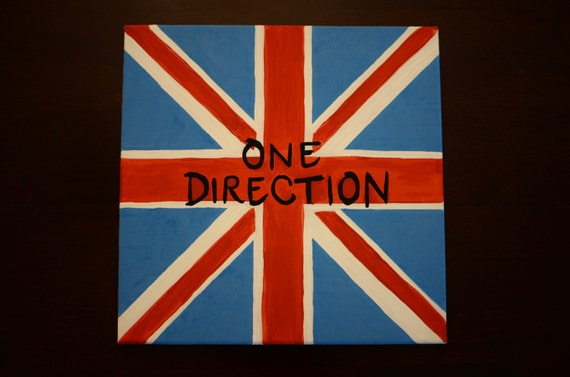 One Direction British Flag Painting