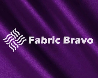 Purple Satin Fabric 60  Inches Wide  for Weddings, Decor, Gowns, Sheets, Costumes, Dresses, etc 4070