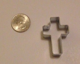 "1.5"" Mini Cross Cookie Cutter"