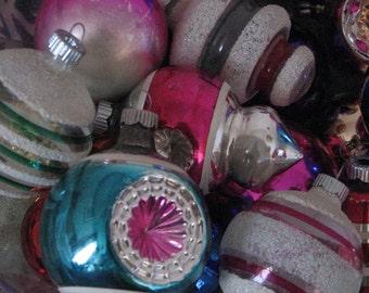 Photography Vintage Christmas Ornaments