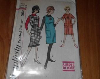 Vintage Simplicity pattern, #4251, size 14, 1960's