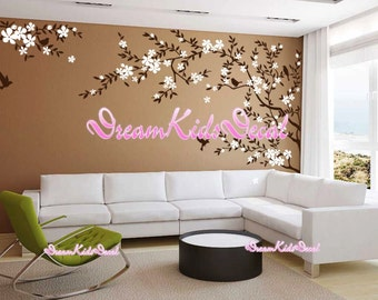 Nursery Wall Decal Kids Wall Sticker - Blossoms Tree decal Nature Design Wall Murals -DK160