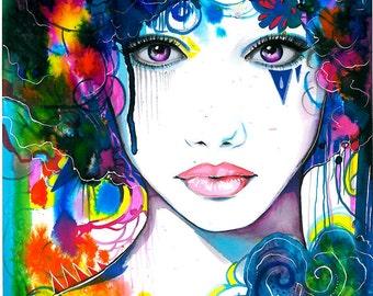 """Art Print """"In Heaven"""""""