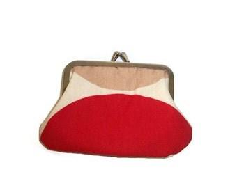 Spot' coin purse frame purse snap frame vintage