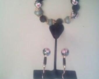 Shawzae Earring and Bracelet Set