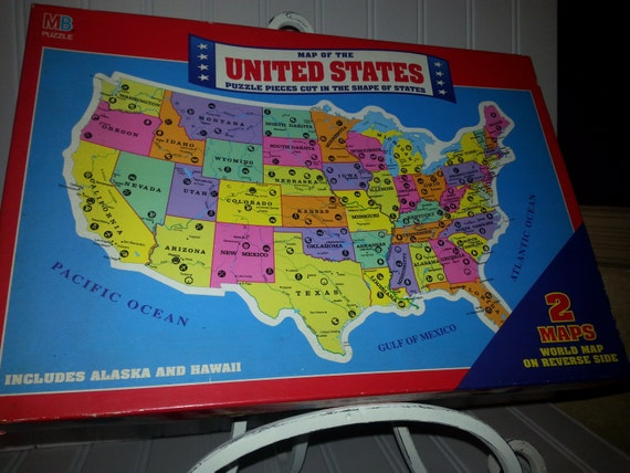 united states map puzzle game