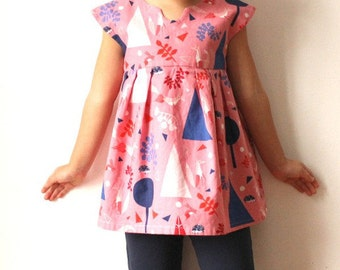 Geranium Dress- Made by RAE Sewing Patterns