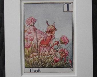 Original 1934 1st edition The Flower Fairy Alphabet Cicely Mary Barker