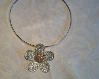 Dear Daisy, industrial bling necklet.