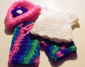 """Crochet Doll Clothes for 18"""" AG Doll"""