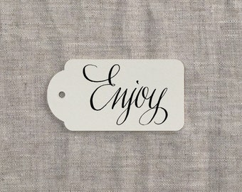 SALE! Enjoy Rubber Stamp