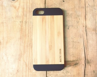 IPHONE 5/5s Bamboo wood case
