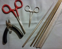 Doll making tool kit - the basic tools to make your life easier...
