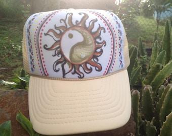 Sunshine Mandala Trucker Hat