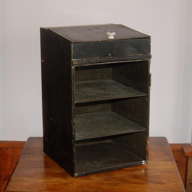 Vintage Industrial Storage Cabinet