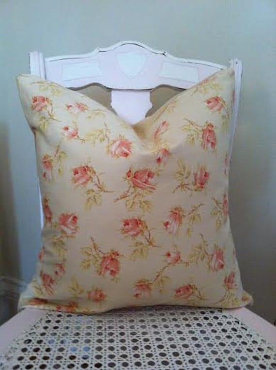 Shabby Chic Cottage Chic Pillow Cover Decorative Pillow