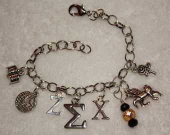 sigma chi jewelry etsy