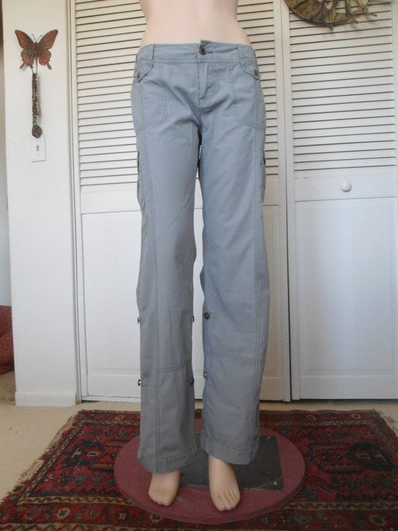 Fantastic DOCKERS Light Grey Field Khaki Pants