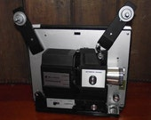 Bell and Howell Dual 8mm Super 8 Movie Projector Vintage 1963