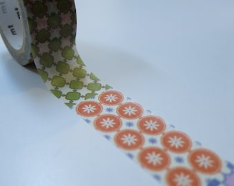 mt expo Limited Edition Washi Masking Tape - Taiwan Old Tile