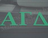 "Officially Licensed Alpha Gamma Delta 8"" x 3"" Bumper Sticker / Window Decal"