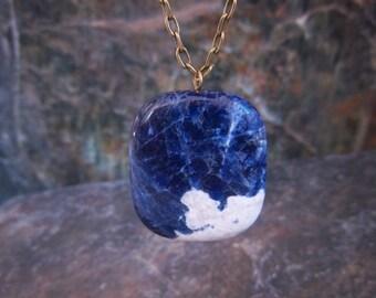 Pendant Necklace - Blue Pendant Necklace