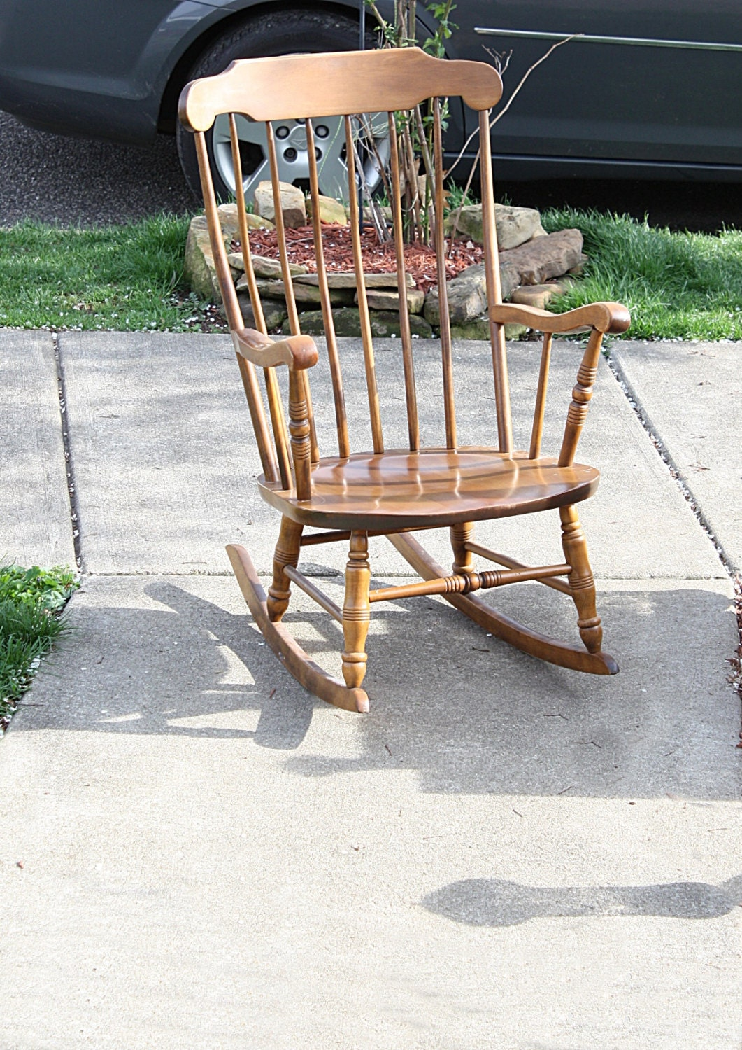 Vintage Colonial Rocking Chair By S Bent Amp Bros By