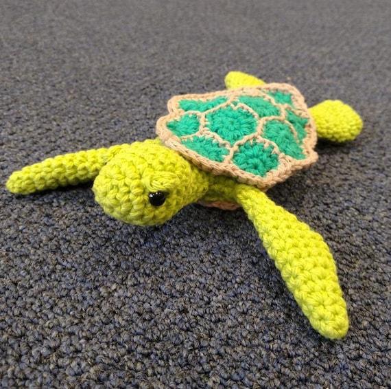 Quick Amigurumi Crochet Patterns : Amigurumi Crochet Pattern Easy Cute Baby Sea Turtle