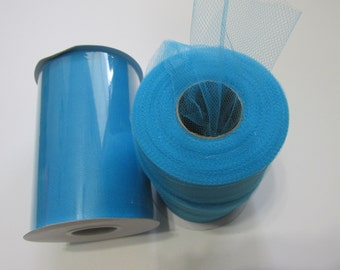 Turquoise Tulle Fabric 100 Yards
