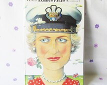 Norman Messengers Famous Changing Faces Flip Book. Lady Diana, Prince Charles 1995, Royal family Book