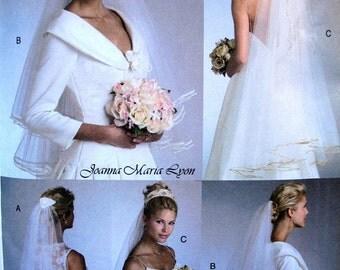 Wedding Veil Pattern, Vogue 8374 Joanna maria Lyon Bridal Veils