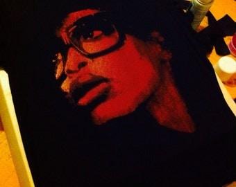 Erykah Badu Screen printed Unisex Tshirt