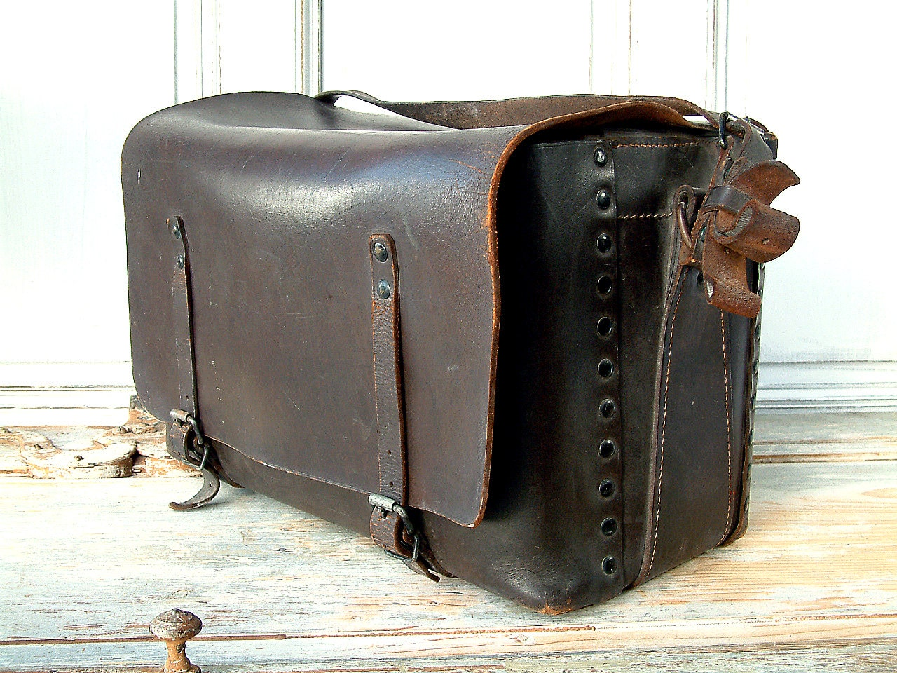 Leather Tool Bags Electrical Sncf Leather Tool Bag