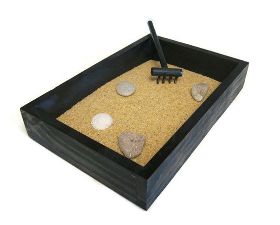 Zen Garden Desk Decor Office Accessories By Paintspiration