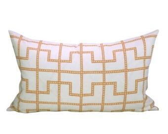 Bleecker lumbar pillow cover in Spark