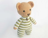 Amigurumi Crochet Patterns for Crochet Teddy Bear Pattern: How to Crochet Easy Amigurumi Bear, PDF Pattern