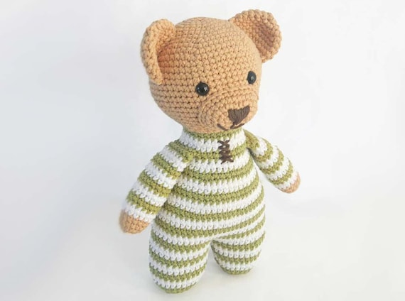 Nanna with a purpose: Knitting Teddies in One Piece | 424x570