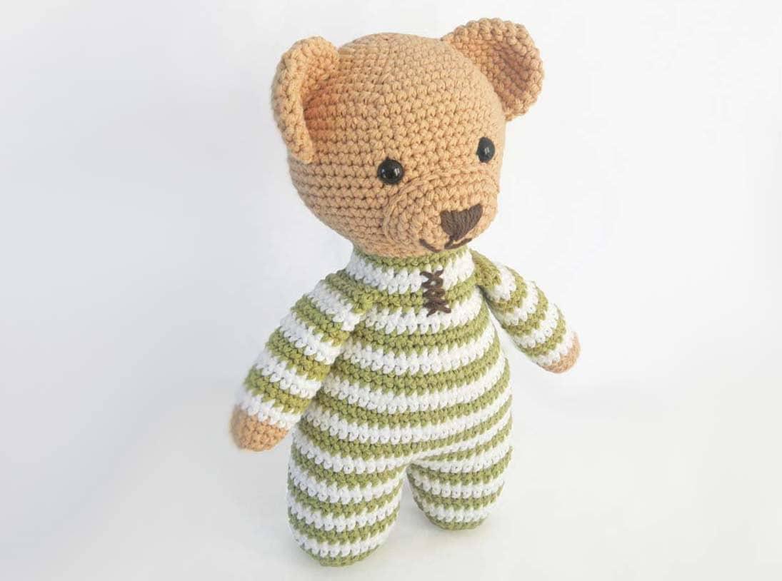 Amigurumi Pattern Teddy Bear : Amigurumi Crochet Patterns for Crochet Teddy Bear Pattern: How