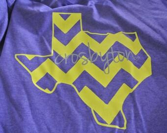 Crosbyton TX Chevron t-shirt