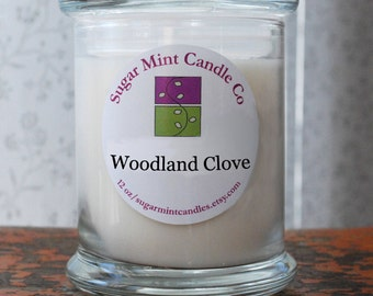 Woodland Clove Soy Candle - 12 oz